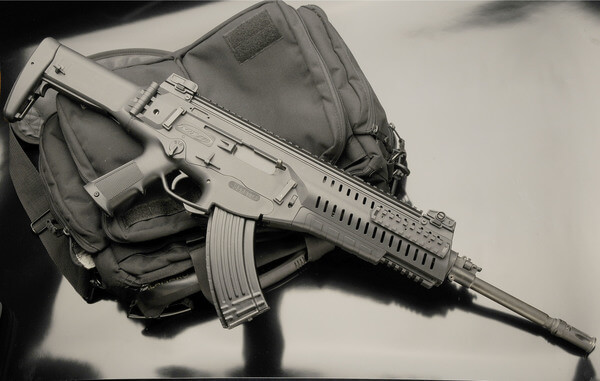 The Beretta ARX-160  assault rifle chambered in 7,62x39mm M43