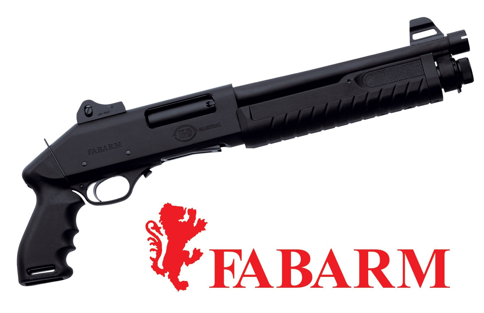 "FABARM introduces the ""Martial Pistola"" shotgun with an 11"" barrel, one of the shortest pump-action shotguns currently available anywhere in the world"