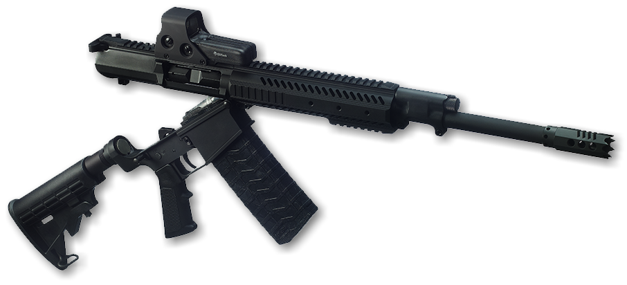Alternatively, the AS-12 upper receiver alone can be purchased and installed on the user's own AR-10 lower receiver