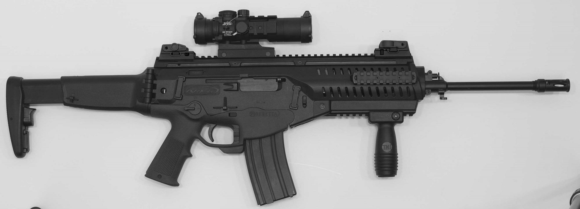 The ARX-100 was first showcased at the 142nd NRA Annual Meetings & Exhibits in Houston (TX)