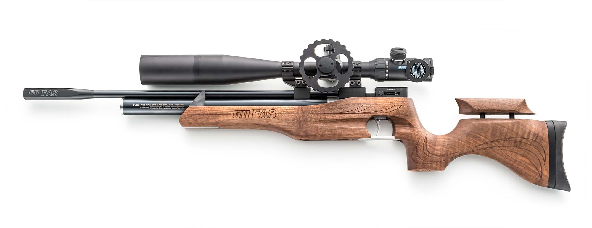 FAS AR611, a new PCP air rifle from Italy