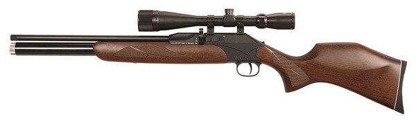 The P-1000 PCP rifle from Diana comes in 4,5mm and 5,5mm calibers