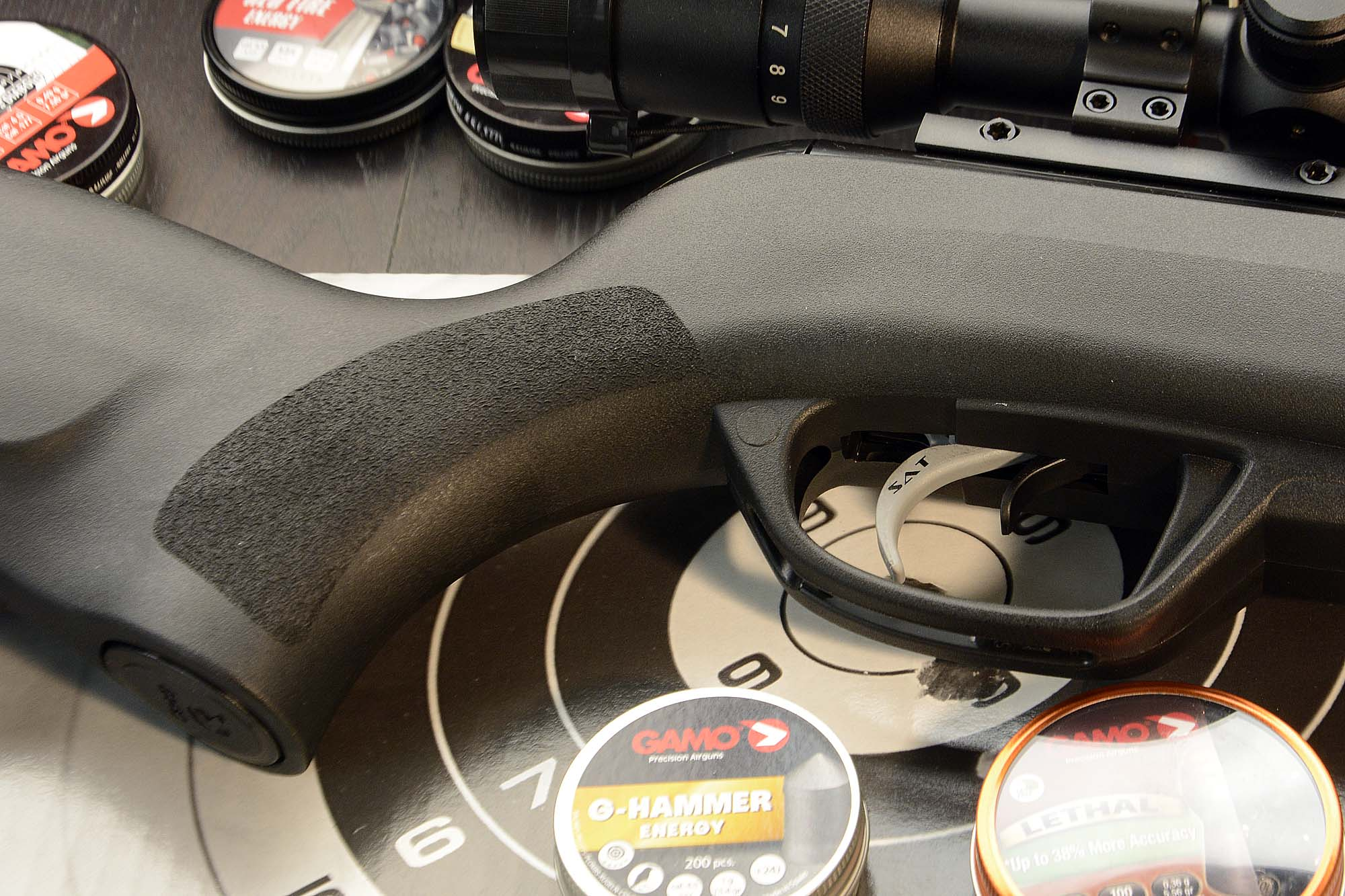 how to hold pistol grip