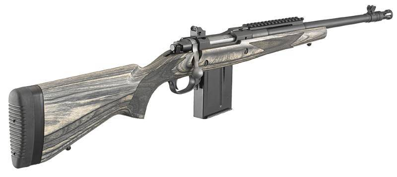 "Lightweight, hard-hitting, reliable: Ruger's M77 ""Gunsite Scout""is the rifle to have if you can have only one!"