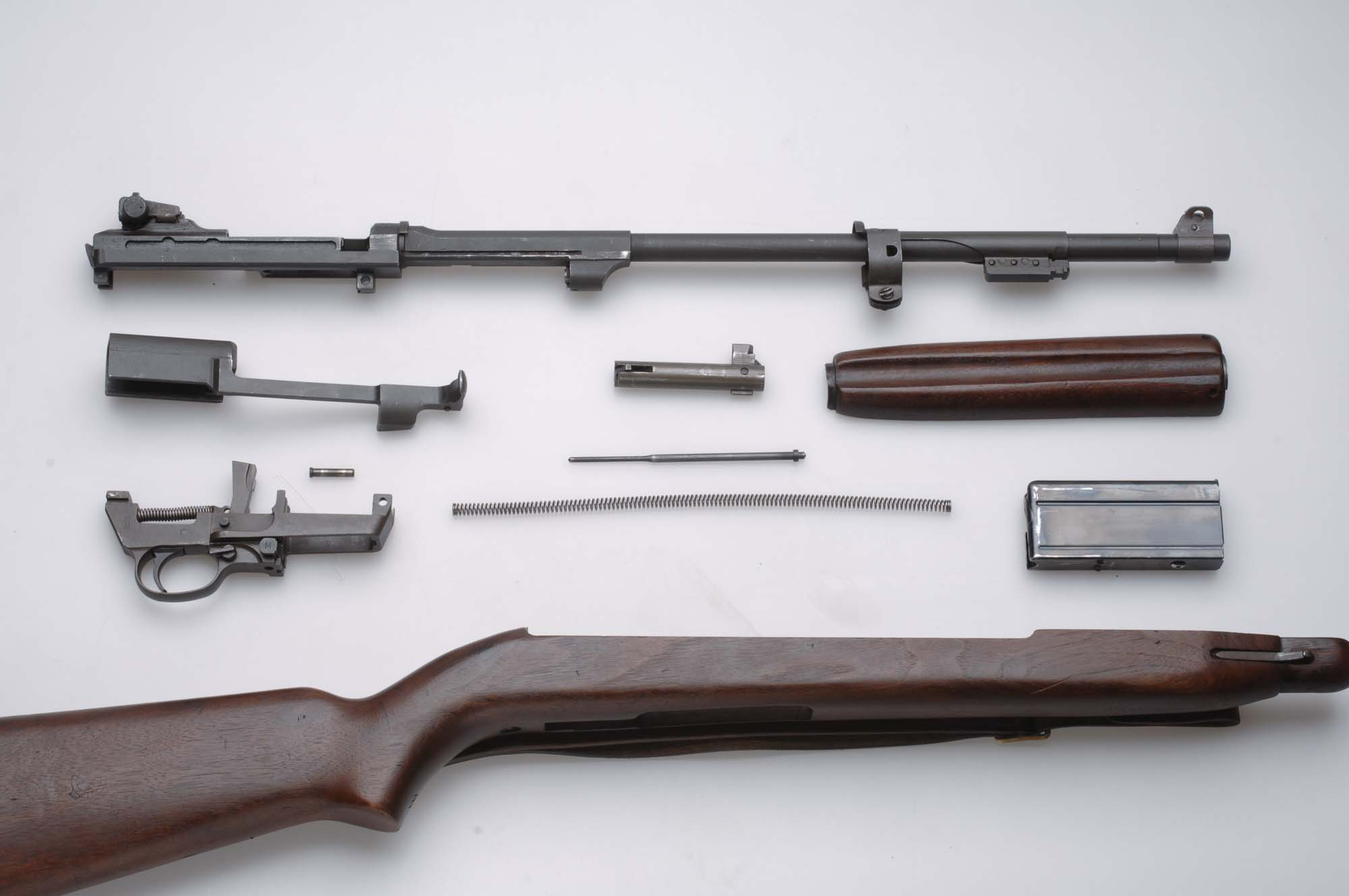 M1 30 Caliber Carbine Field strip and re assembly