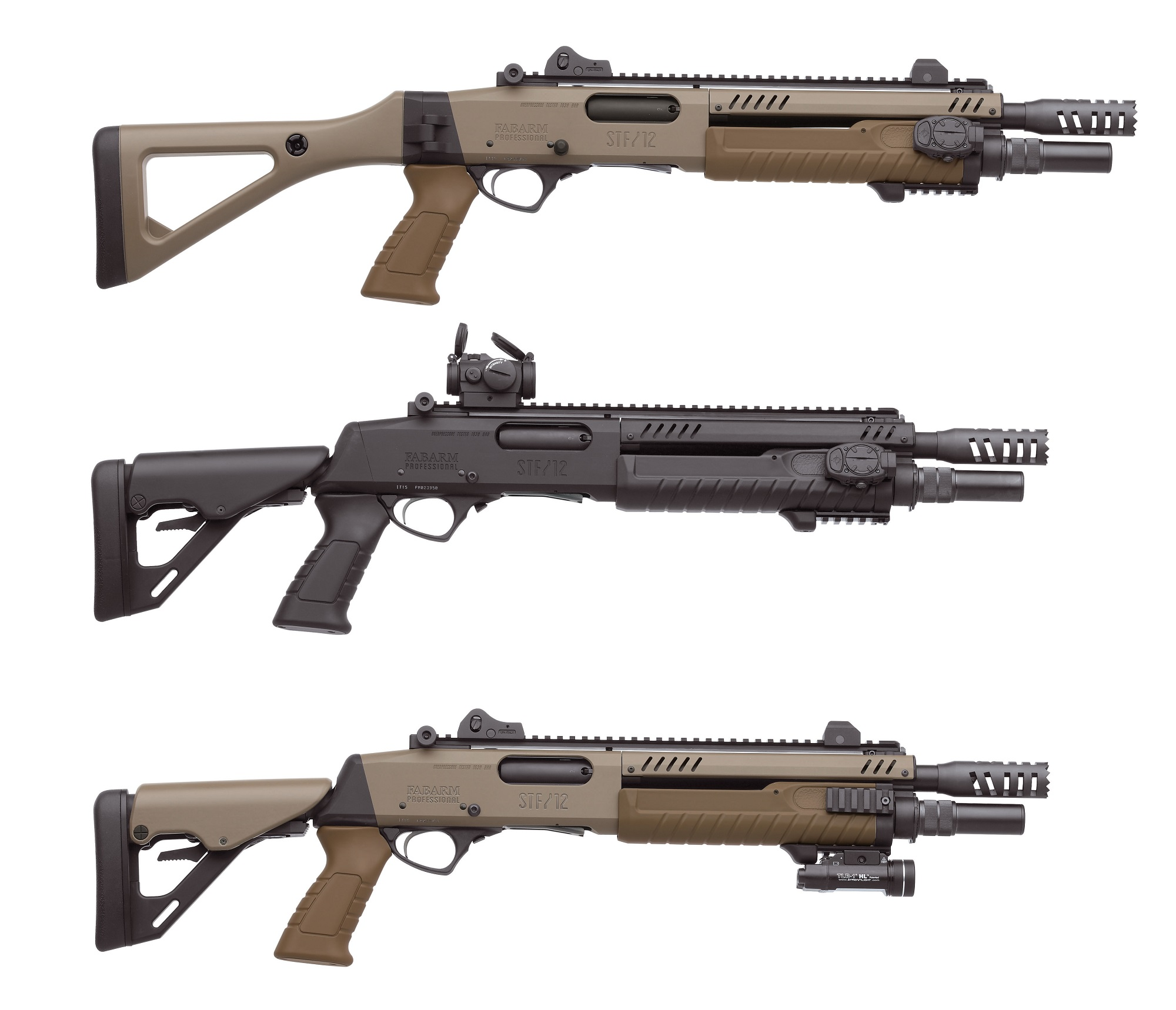 HIT Show Vicenza 2016 Fabarm STF 12 Pump Action Shotguns