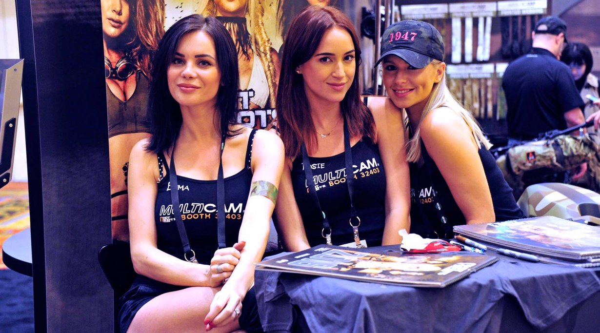 Women at 2016  SHOT Show