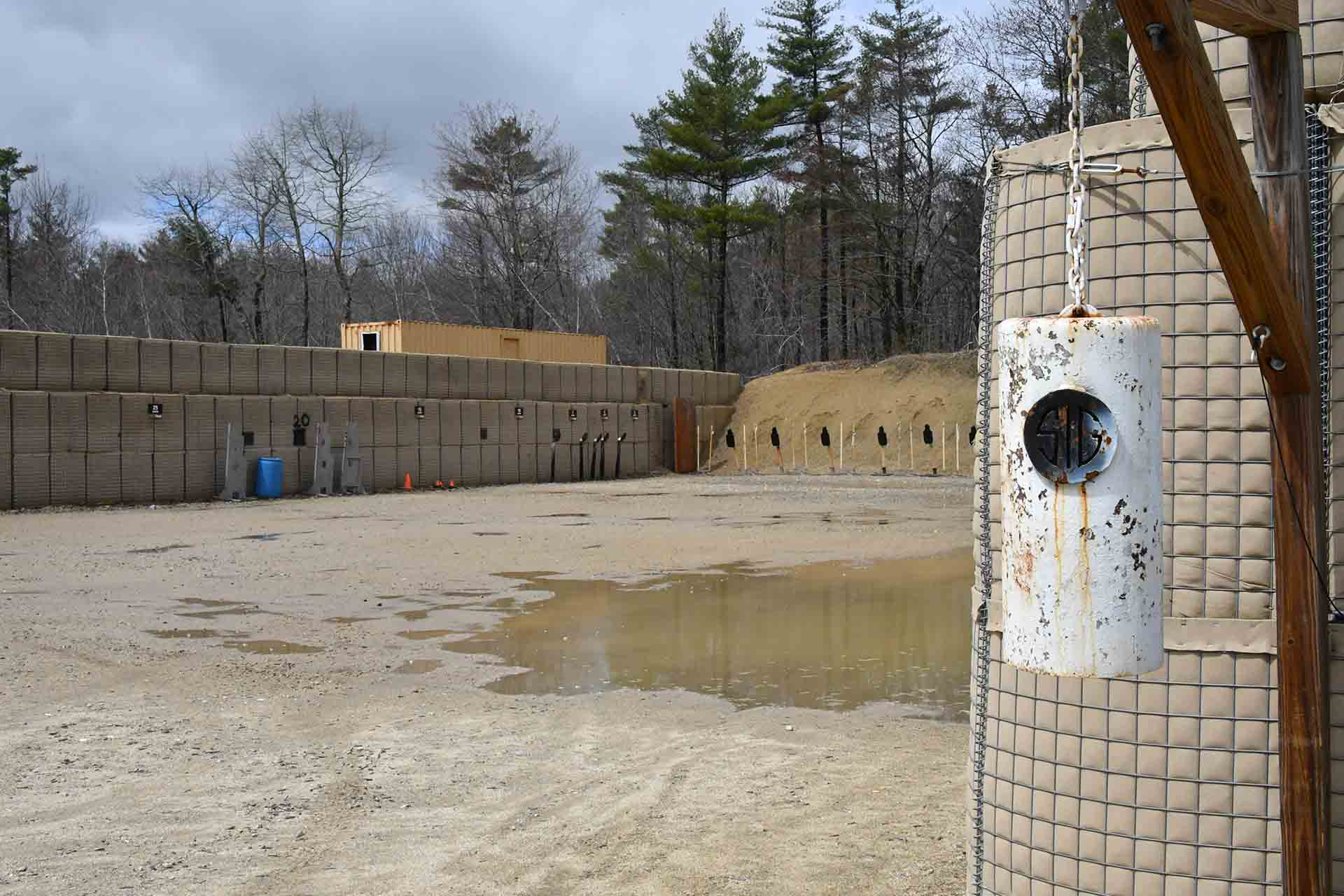 SIG Sauer Academy: shooting ranges