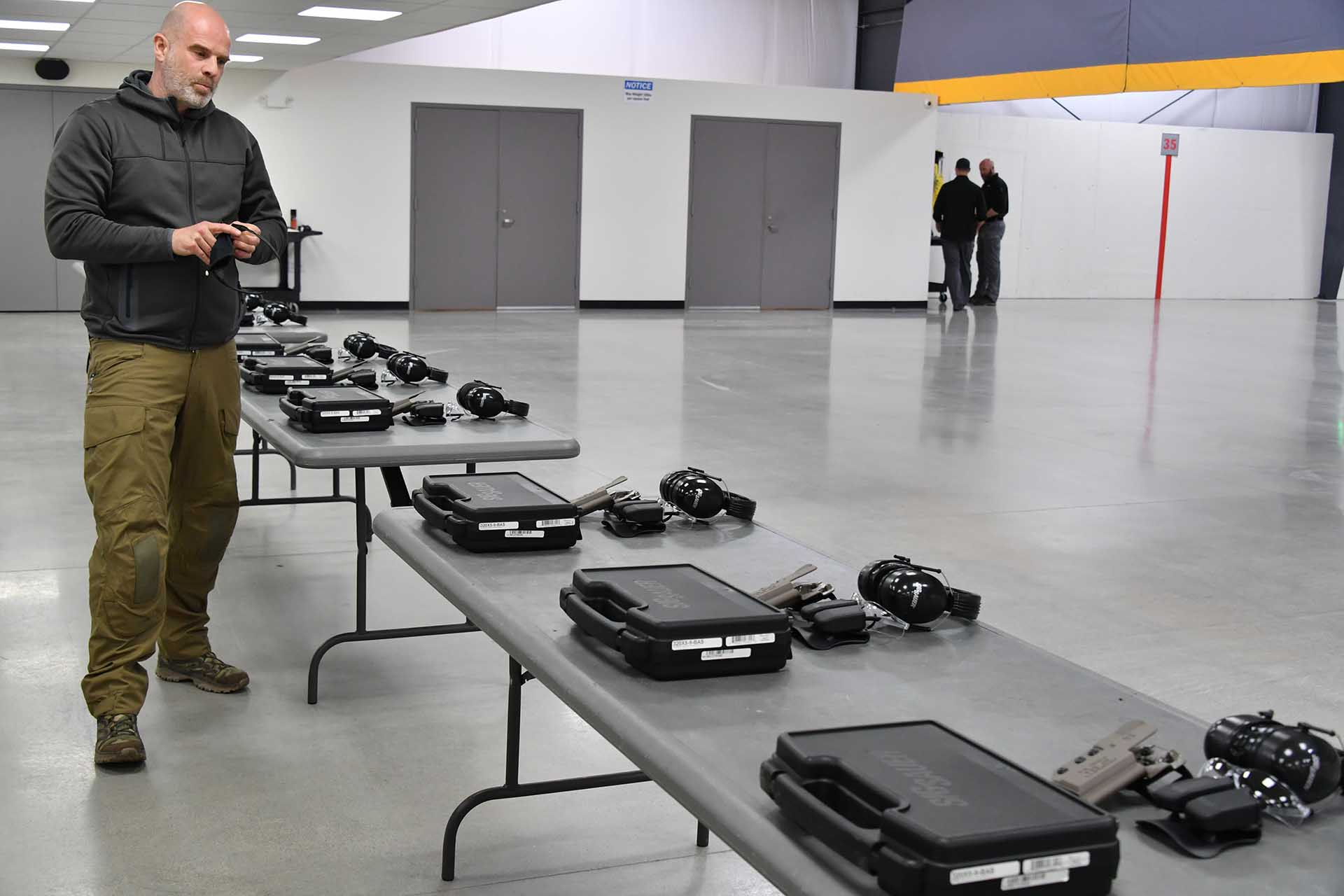 Stefan Perey, all4shooters reporter, at SIG Sauer Academy