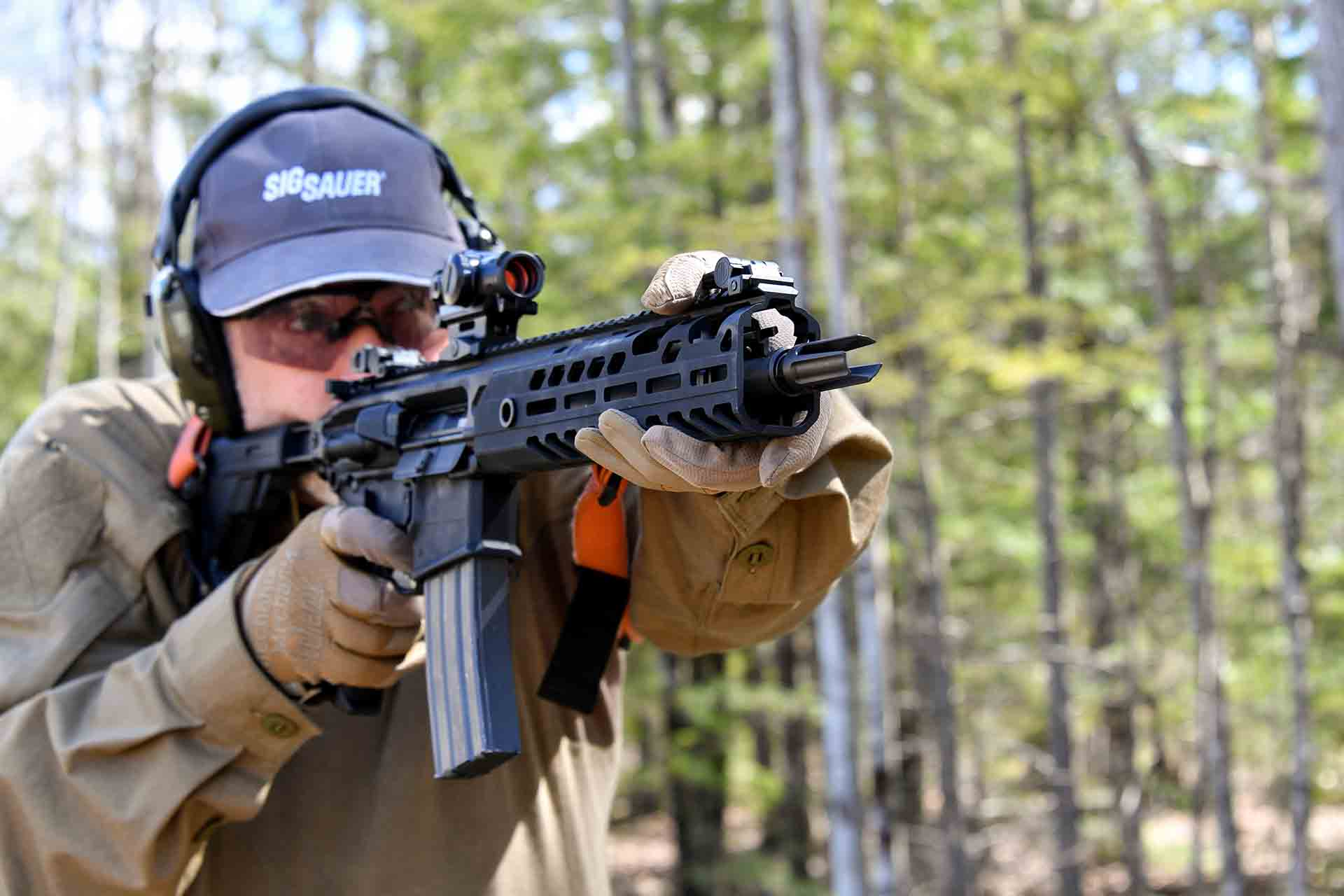 Testing the SIG Sauer MCX Virtus semiautomatic carbine