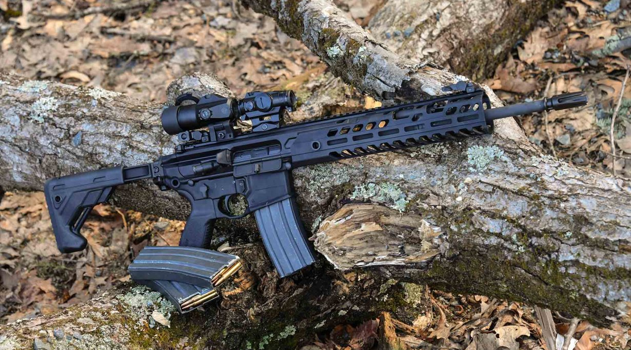 SIG Sauer MCX Virtus semiautomatic carbine in .223
