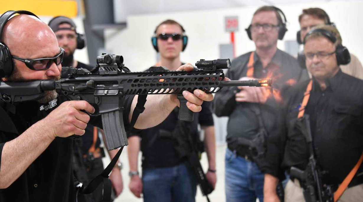 Testing the SIG Sauer MCX Virtus semiautomatic carbine in .223
