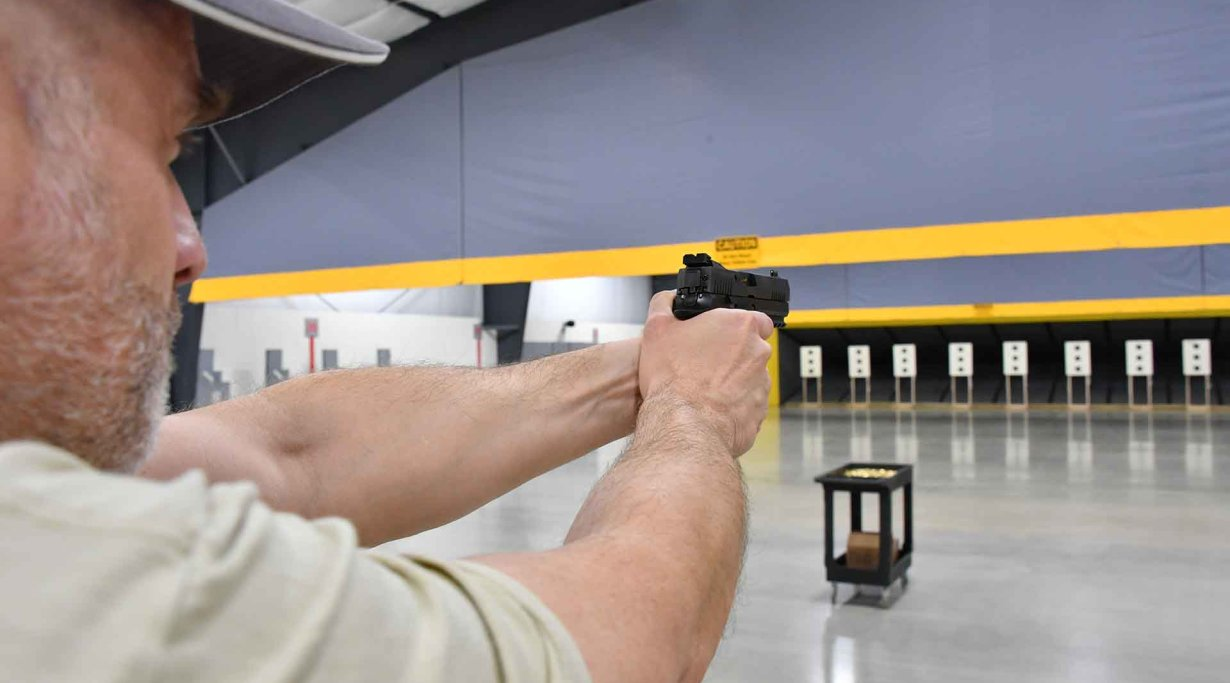 Testing the SIG Sauer P320 X5 at the SIG Sauer Academy