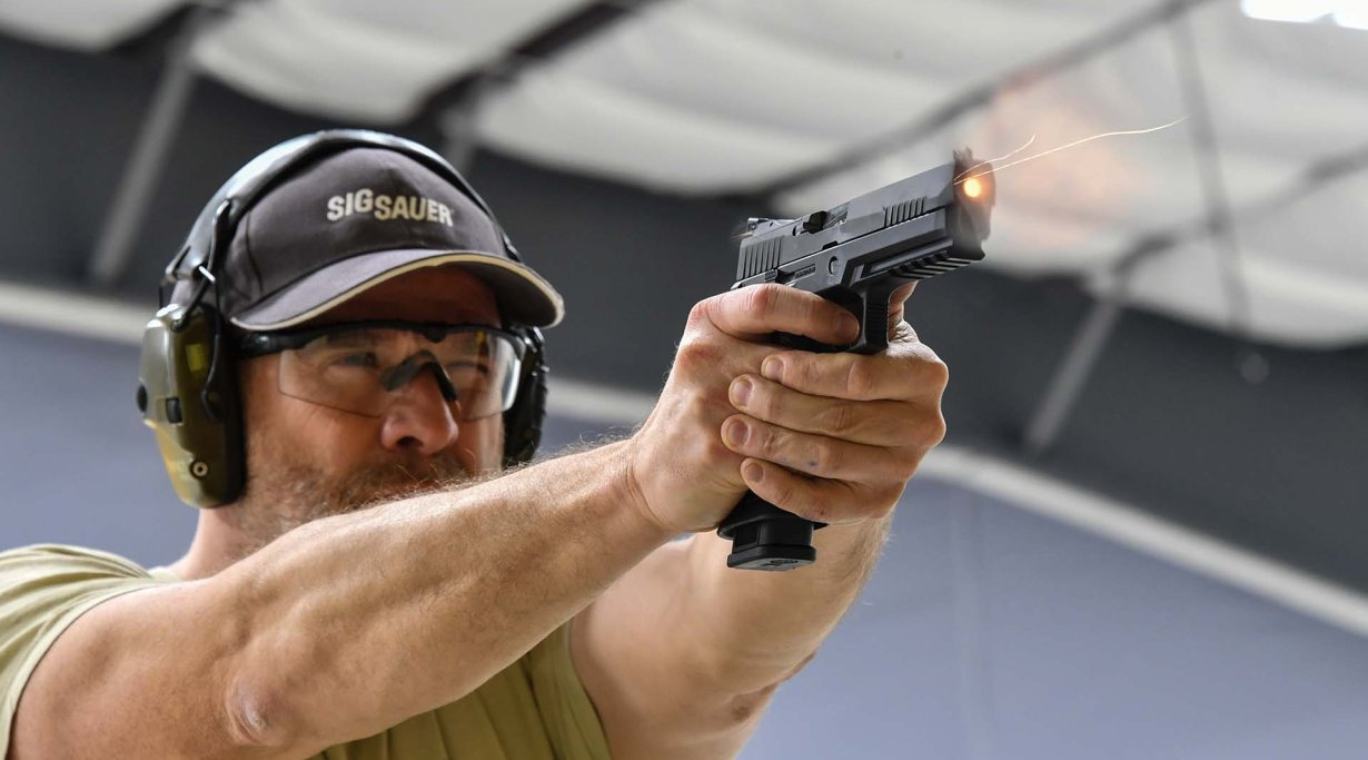Live fire testi of  the SIG Sauer P320 X5 pistol