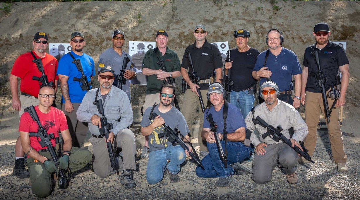 Journalists at SIG Sauer Academy