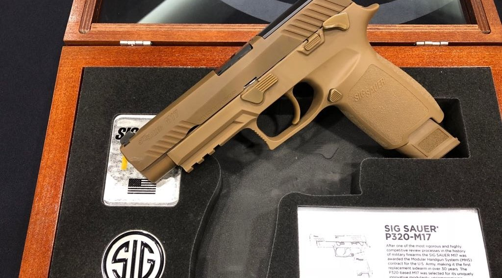 SIG Sauer M17-Commemorative in its box
