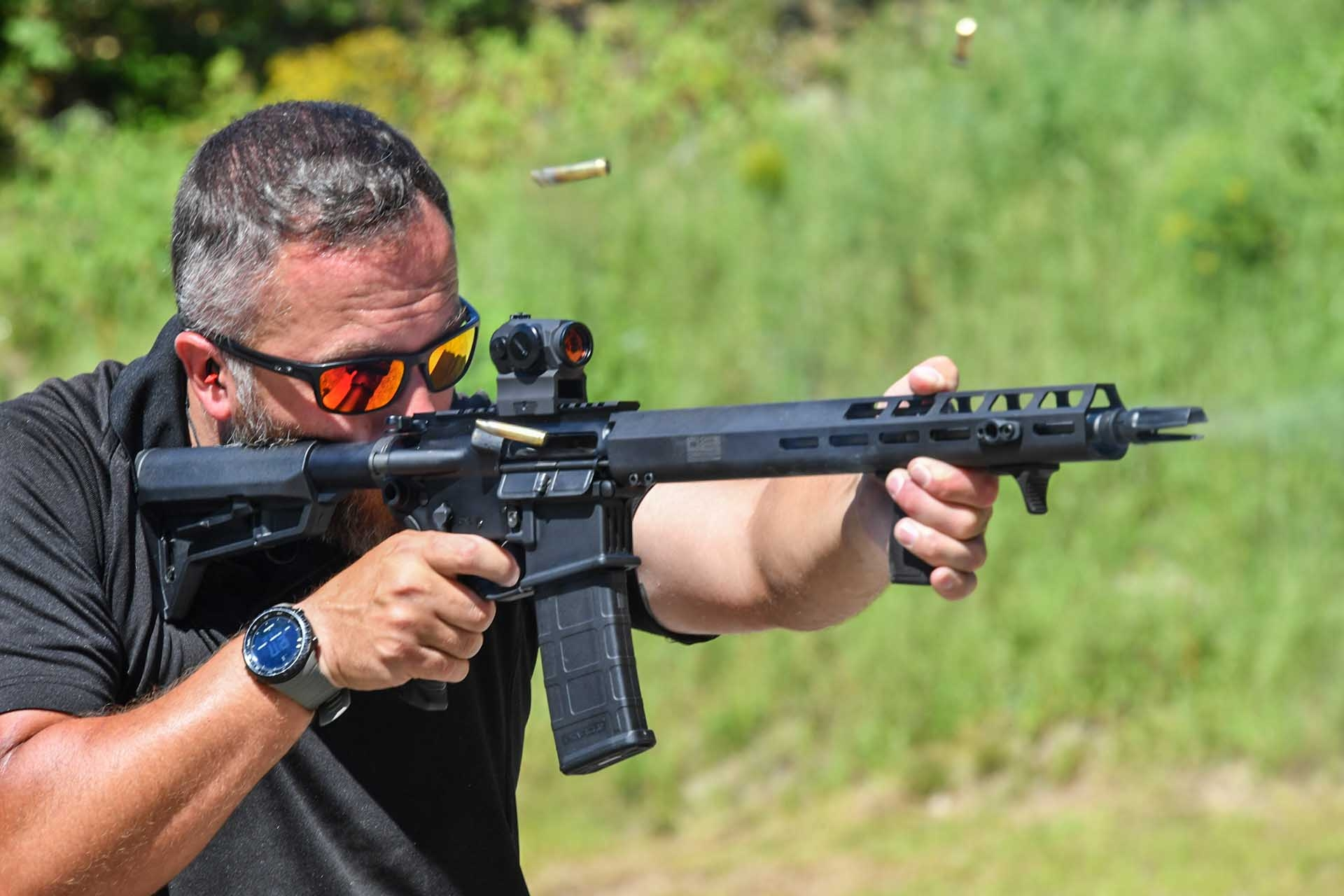 SIG Sauer M400 TREAD during the test