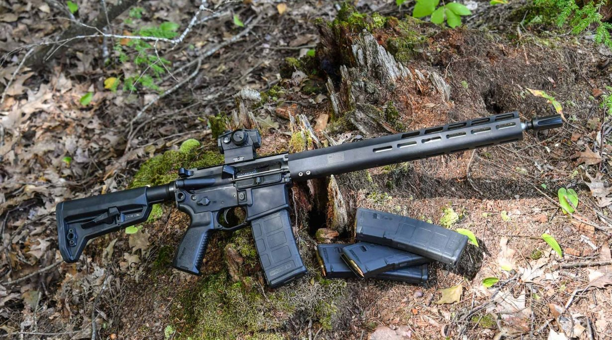 SIG Sauer M400 TREAD rifle in stock configuration