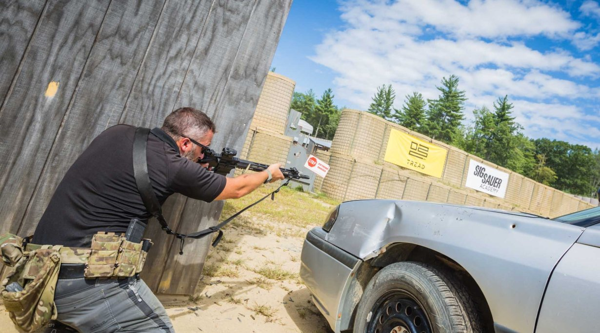 Shooting the SIG Sauer M400 TREAD