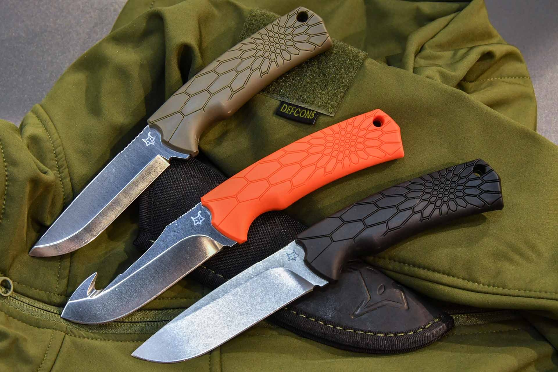 Fox 605, 606 and 607 knives