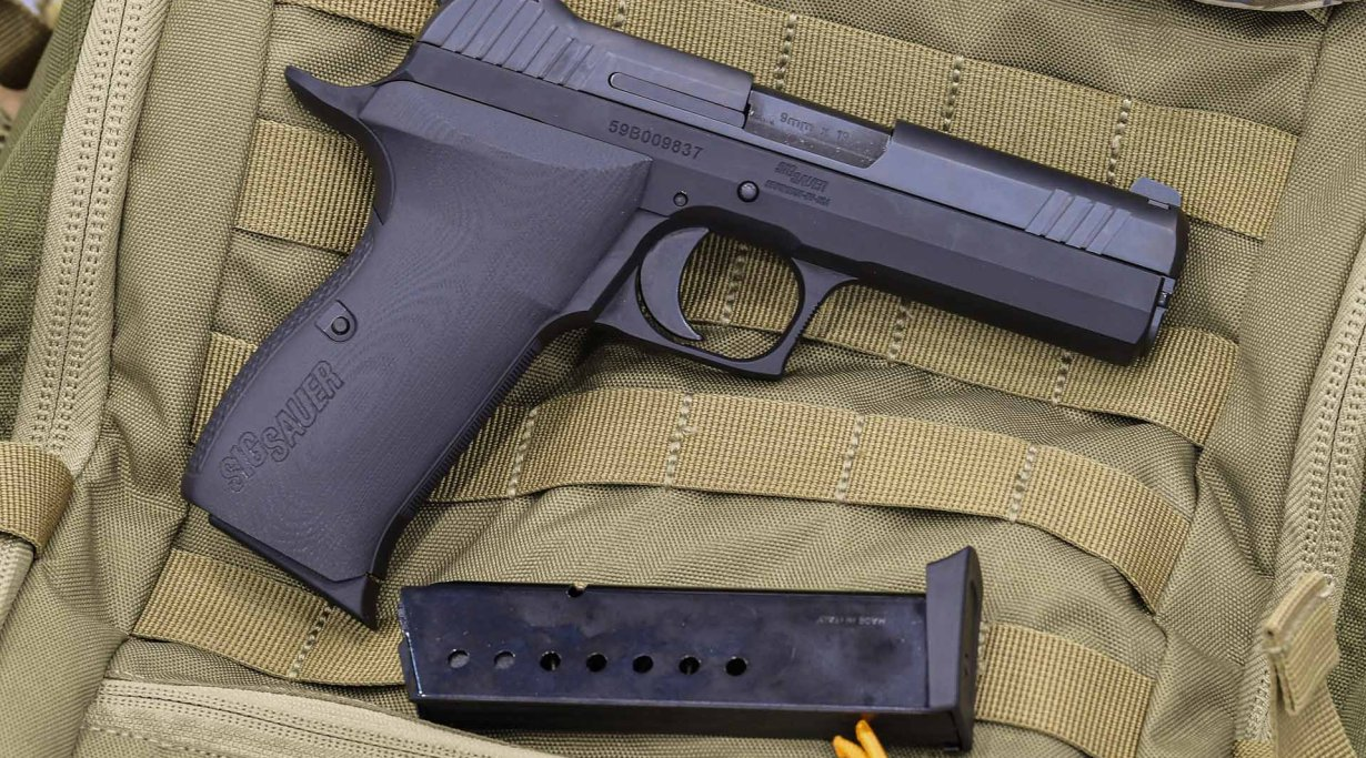 SIG P210 Carry rigth side view