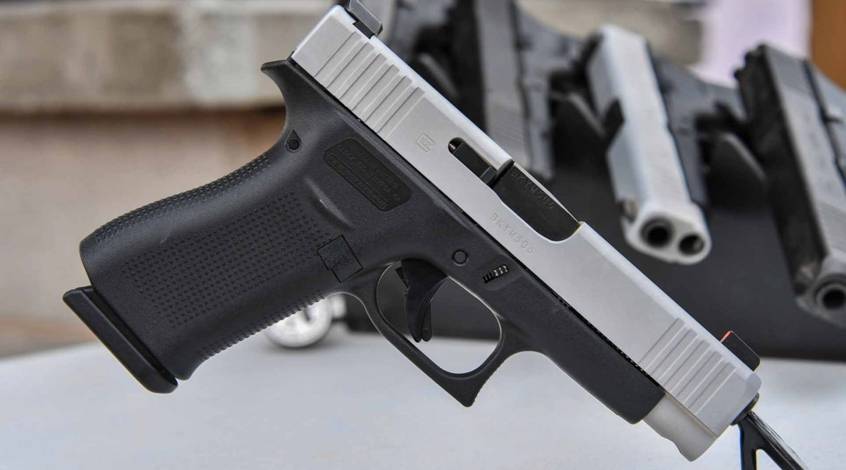 Glock 48 pistol showcased at SHOT Show in Las Vegas