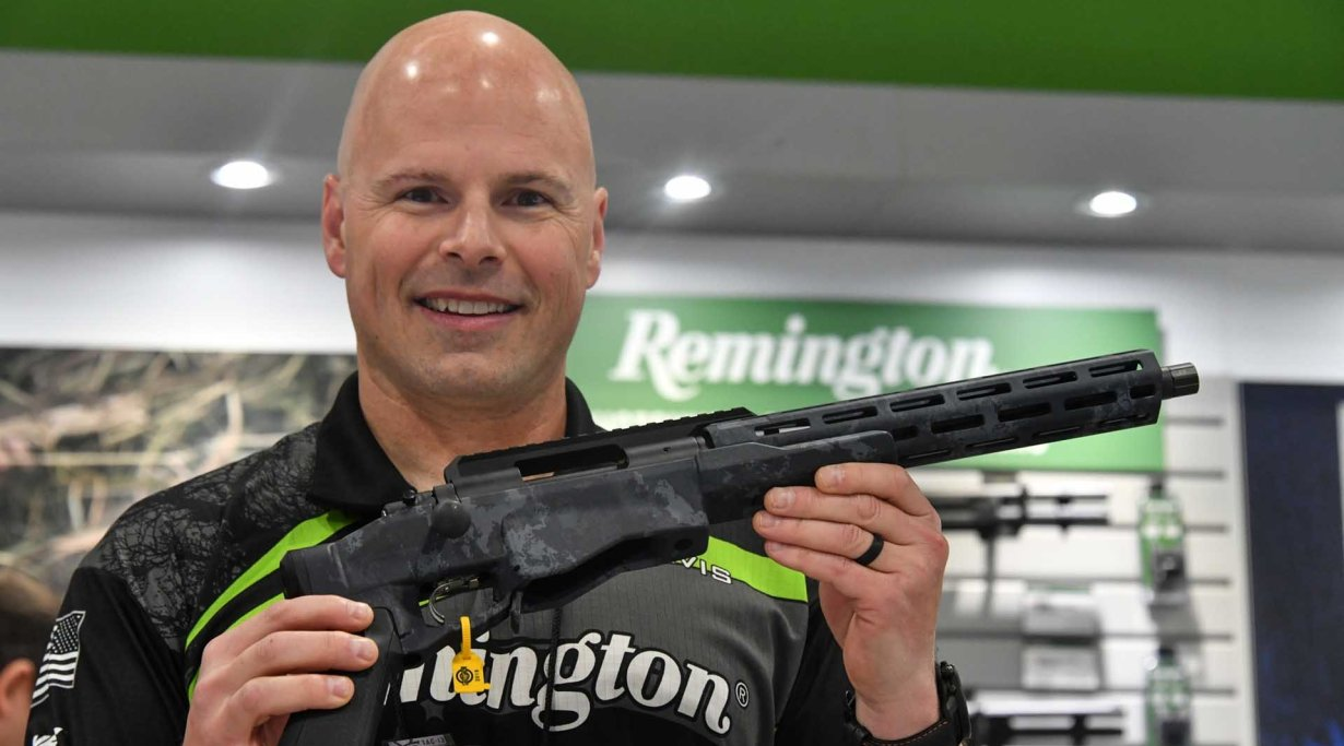 Remington M700 CP Chassis Pistol
