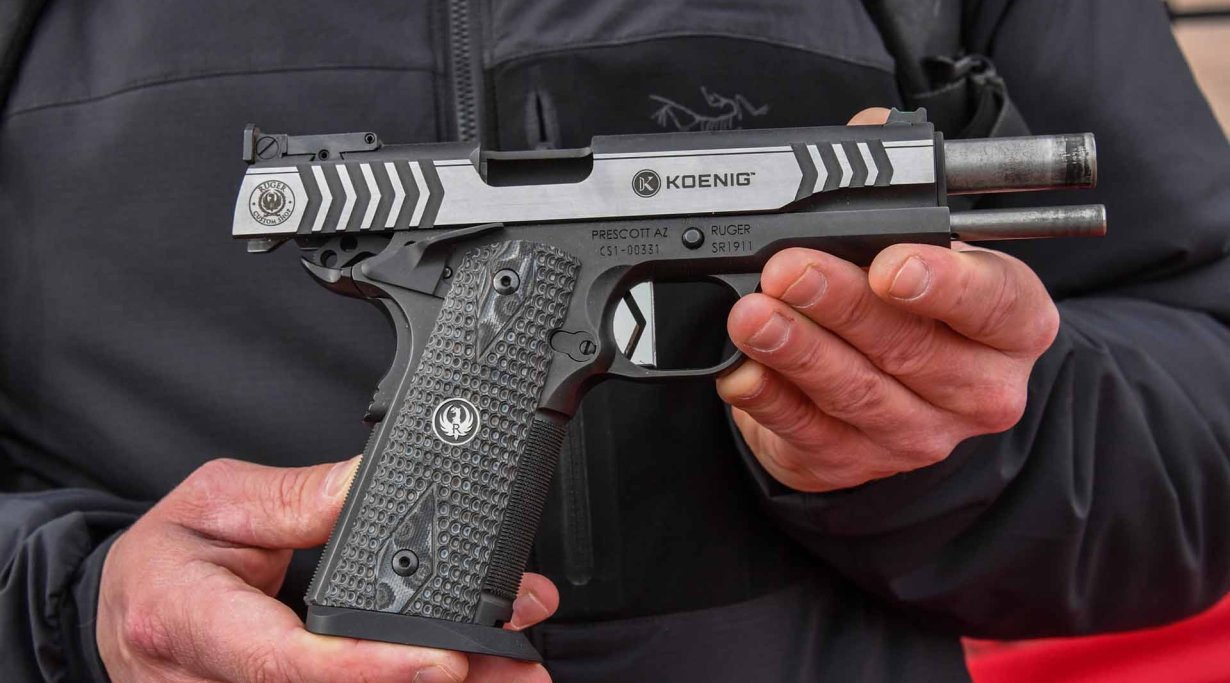 Ruger SR1911 Competition pistol in 9 mm
