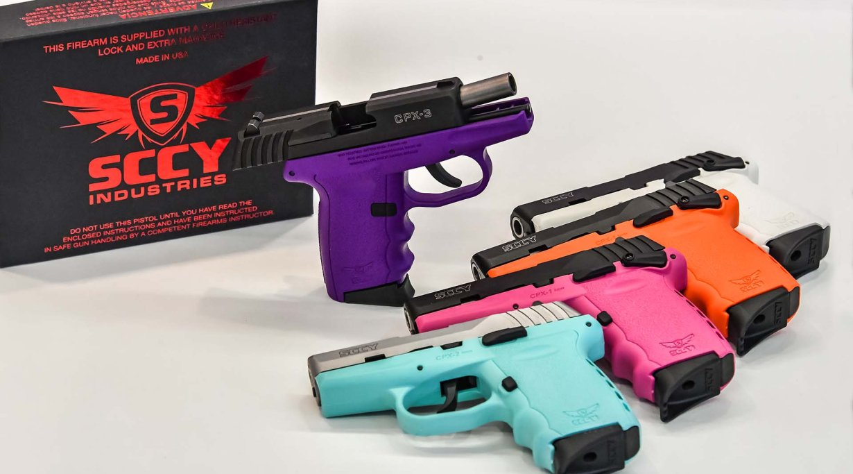 SCCY's CPX Series pistols available in 9 different colors