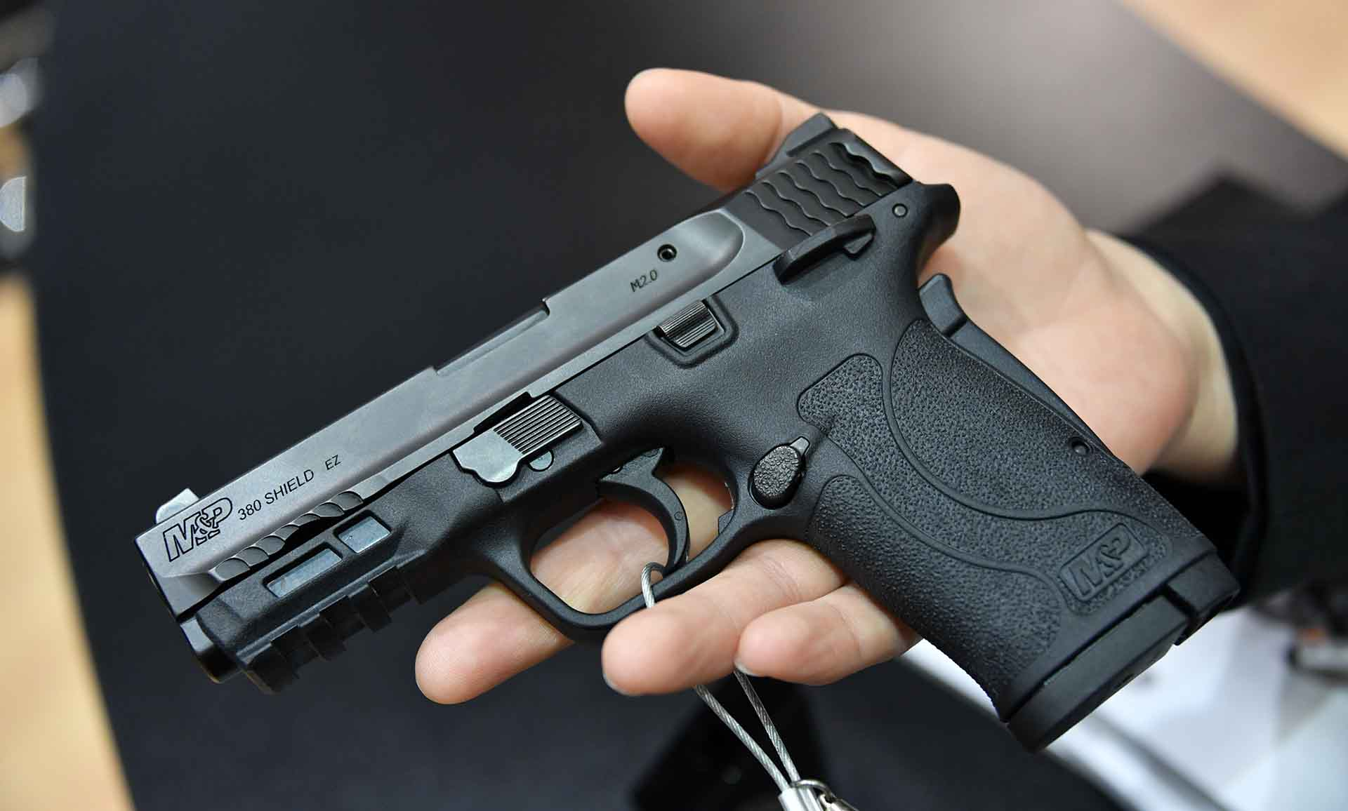 Smith & Wesson M&P Shield EZ, or Easy pistol.