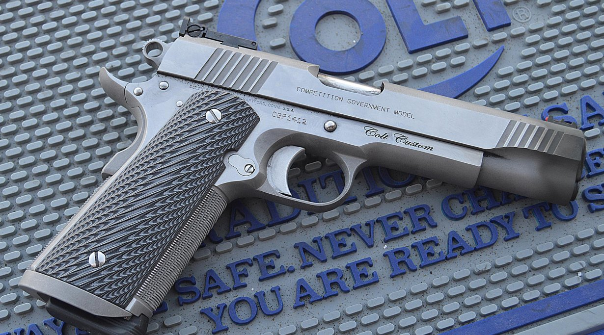 Colt Competition Government pistol