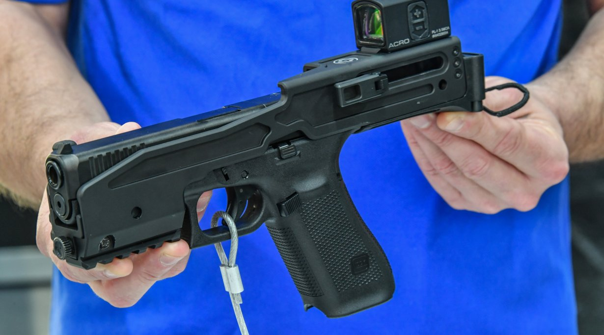 B&T USW-G17 conversion kit for Glock 17 and 19