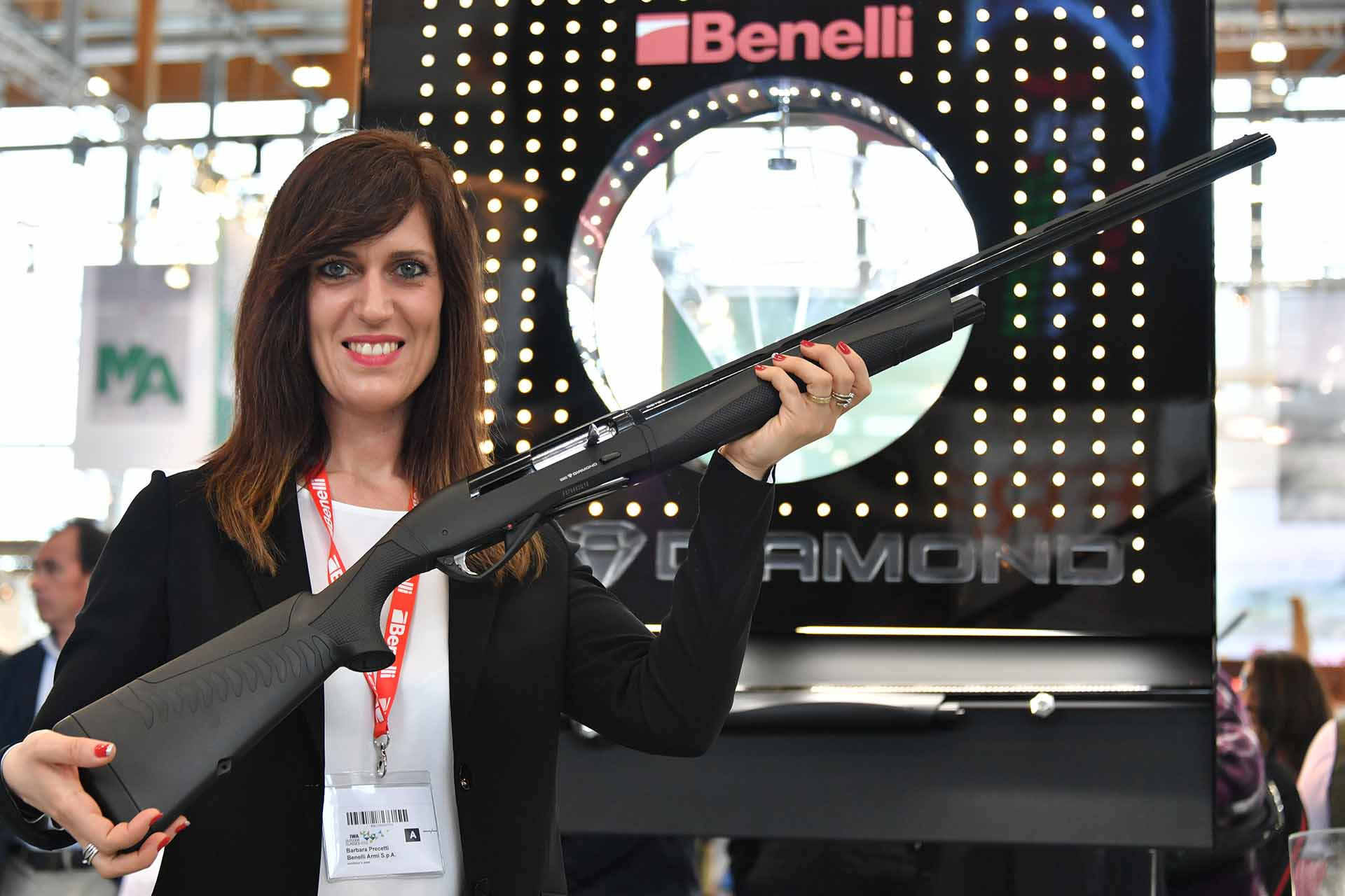 Benelli Raffaello Be Diamond semiautomatic 12 gauge shotgun at IWA 2018