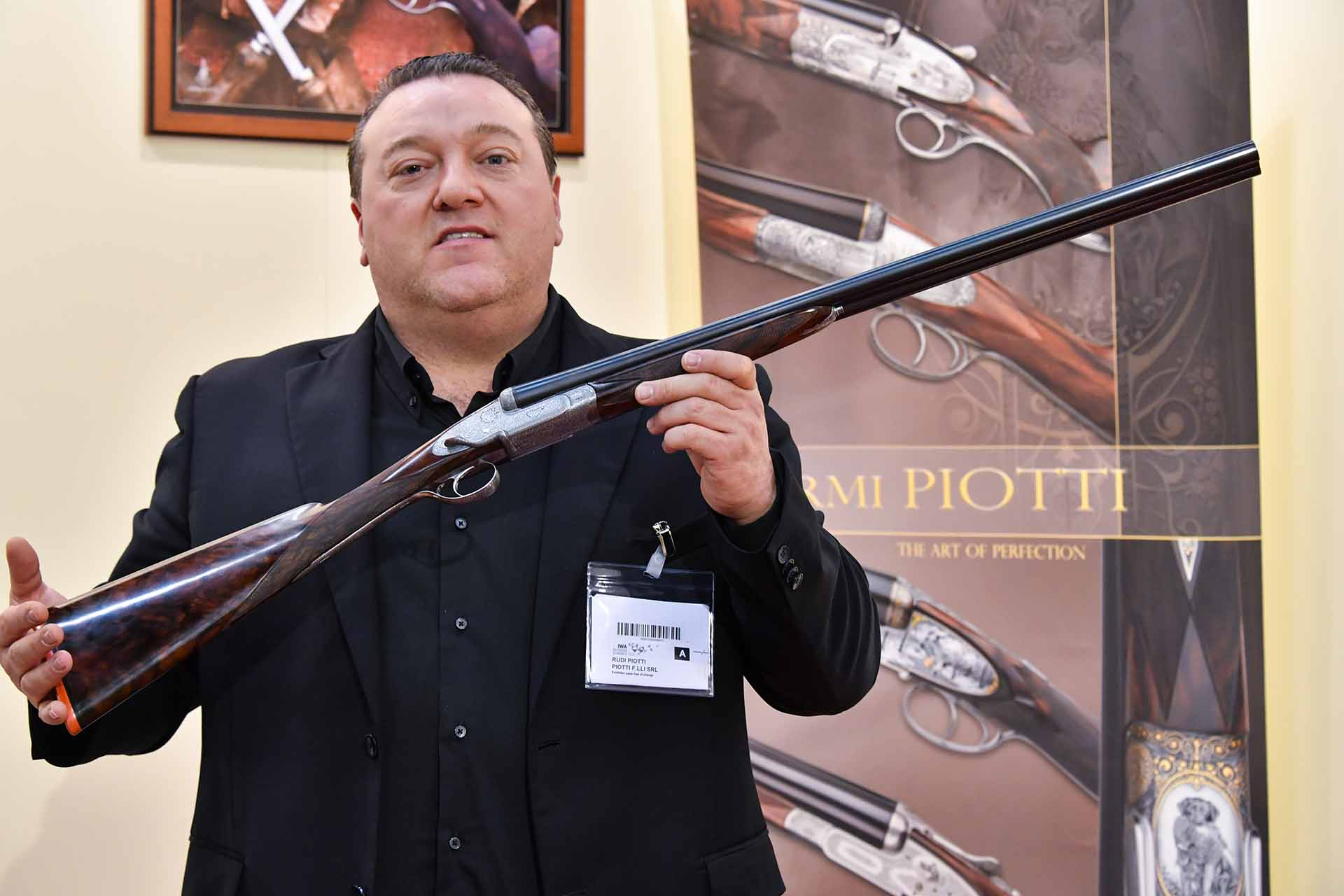 Piotti Serpentine Side Lever action side by side shotgun