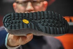 Vibram sole of the Crispi Addict footwear