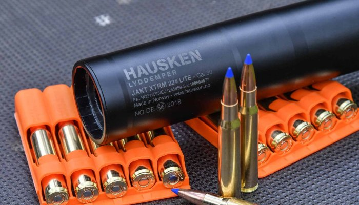 accessories: Hausken Jakt JD 224 Lite XTRM Mk2: the slim sound suppressor with top performance