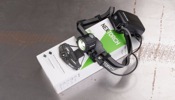 nextorch: Nextorch myStar R - A technically refined, ergonomic headlamp