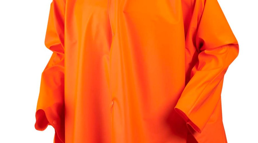 Seeland Rainy poncho, fluorescent orange