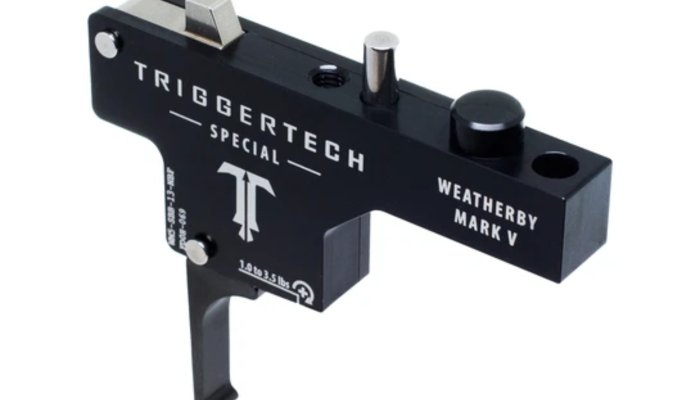 accessories: TriggerTech Weatherby Mark V Triggers, the ideal upgrade