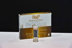 Baschieri & Pellagri Big Game 8 Pallettoni (11/0) Copper Plated – Extra Velocity
