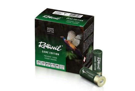 Rottweil GAME EDITION pheasant packaging