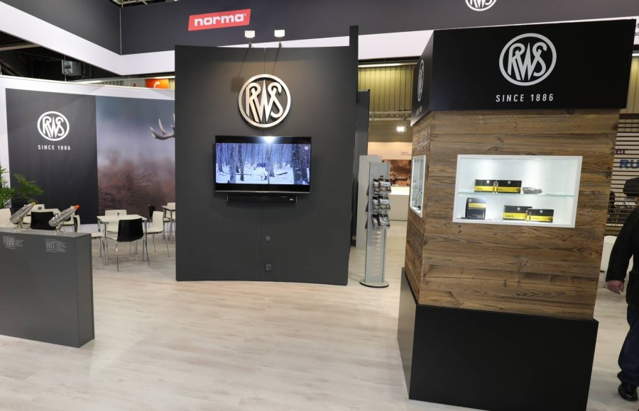The booth of RWS at the IWA 2019