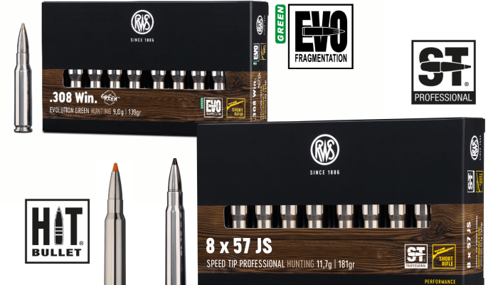 rws-ammunition: RWS Performance Line: 3 new calibers of short rifle hunting ammunition for short barrels are now available