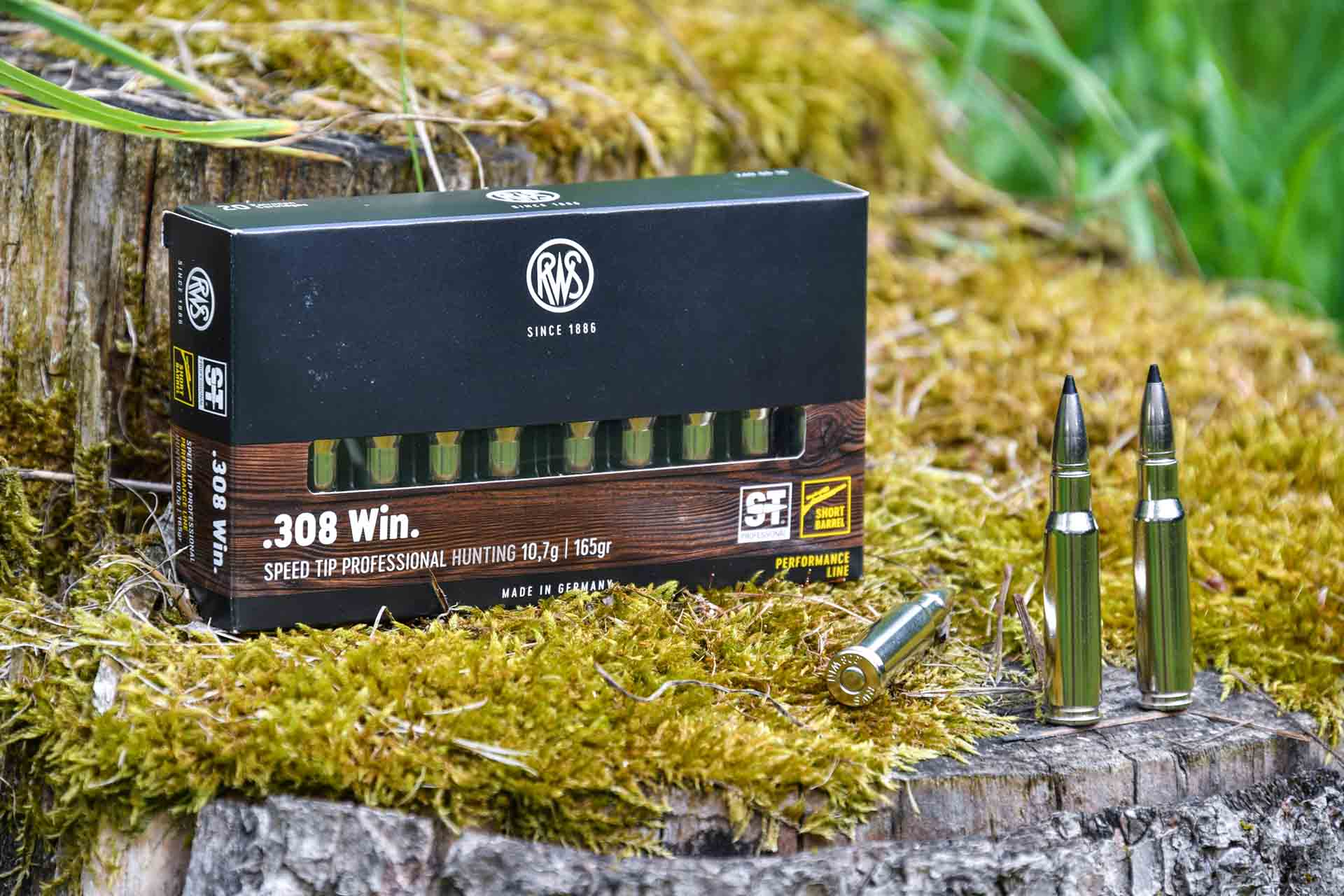 RWS Short Rifle load with the 10.7g (165gr) Speed Tip Pro bullet.