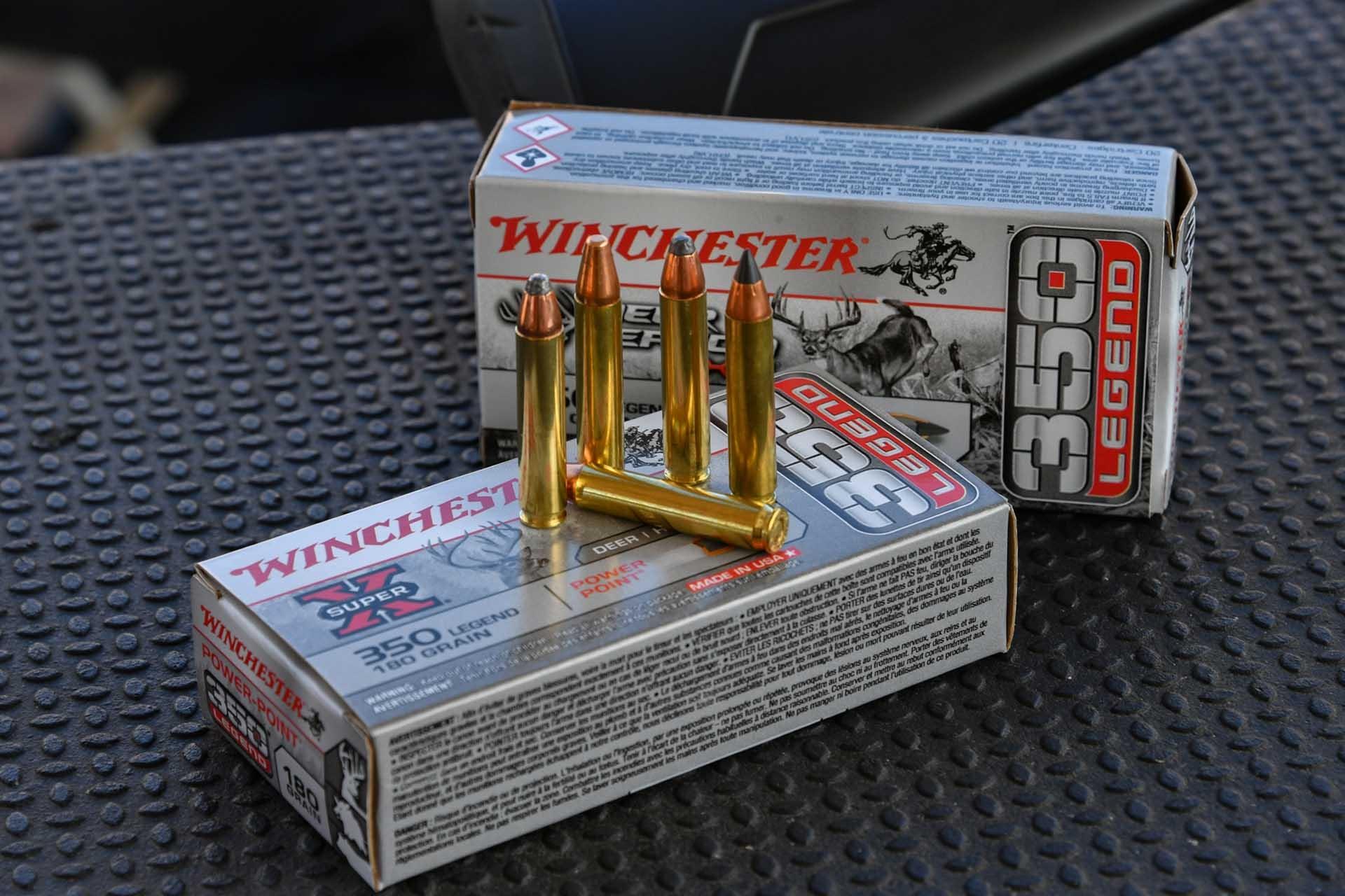 winchester-ammunition: Winchester .350 Legend, a new hunting rifle caliber