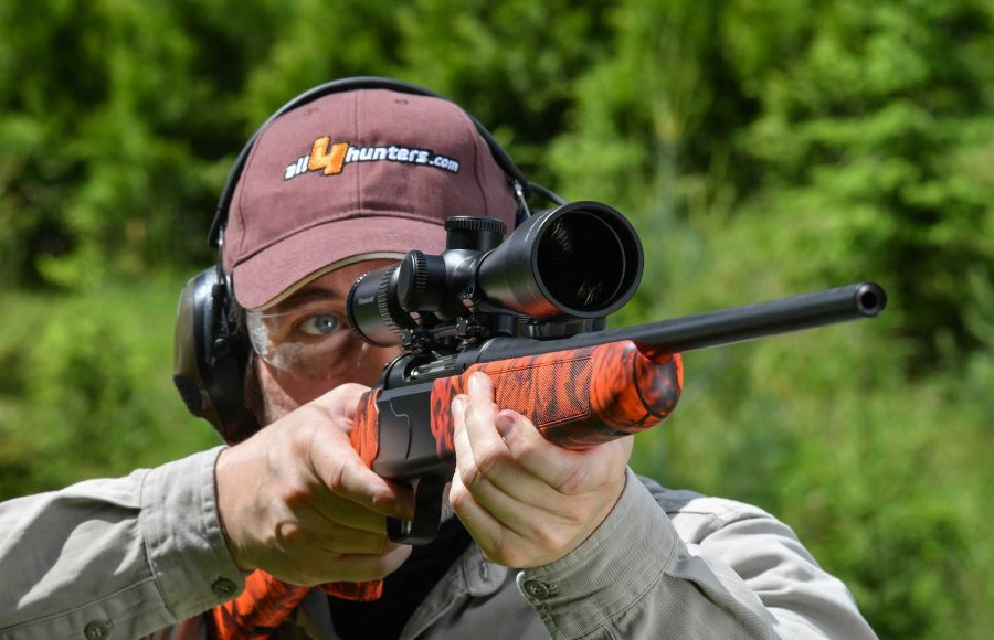 Delta Optical Titanium 4-24x50 HD mounted on a Krieghoff Semprio rifle: fire test