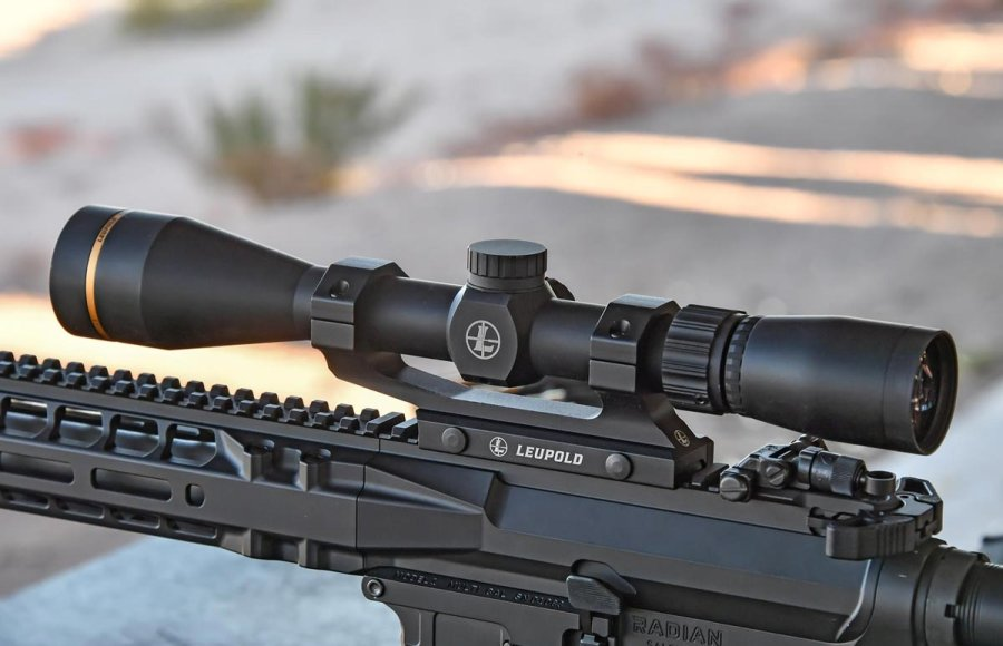 The new VX-Freedom series of riflescopes by Leupold at the SHOT Show 2018