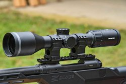 The Minox ZE 5.2 2-10x50 is a manificent hunting riflescope
