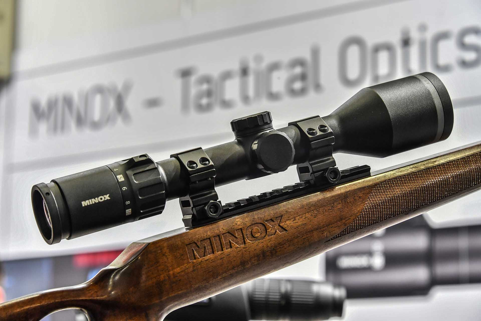 New riflescope line Z5.2 from MINOX introduced at IWA 2018