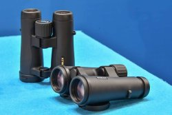 Noblex binoculars range, the 8x42 and 10x42 models.